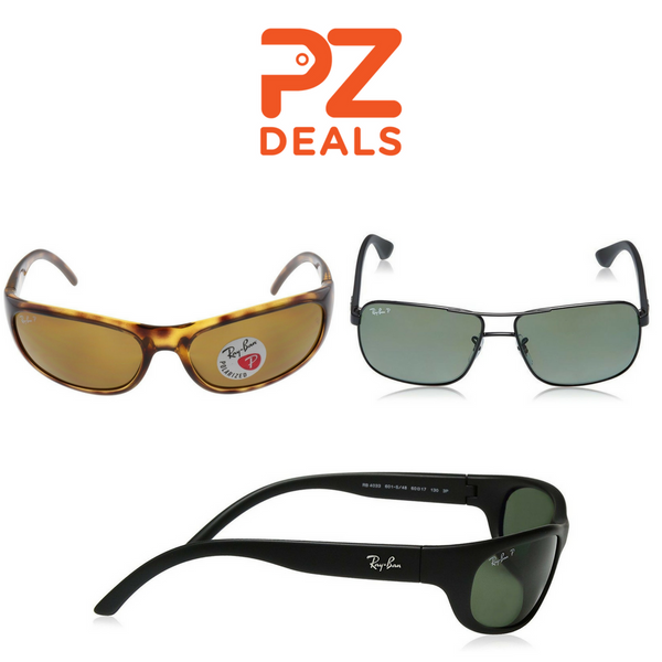 Ray-Ban polarized sunglasses - 4 styles