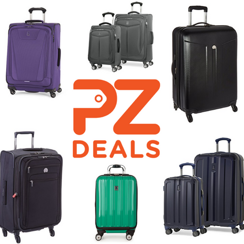 Up to 60% off luggage sets