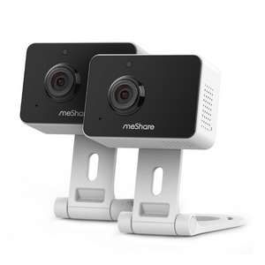 2 Pack Of 1080p Mini Wireless Two-way Audio Cameras
