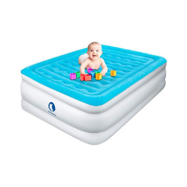Queen Air Mattress with Built-in Electric Pump