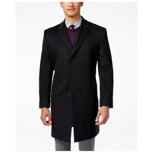 Kenneth Cole Reaction Raburn Wool-Blend Over Coat (3 Colors)