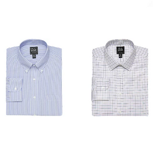 Jos A Bank Traveler Collection Dress Shirts