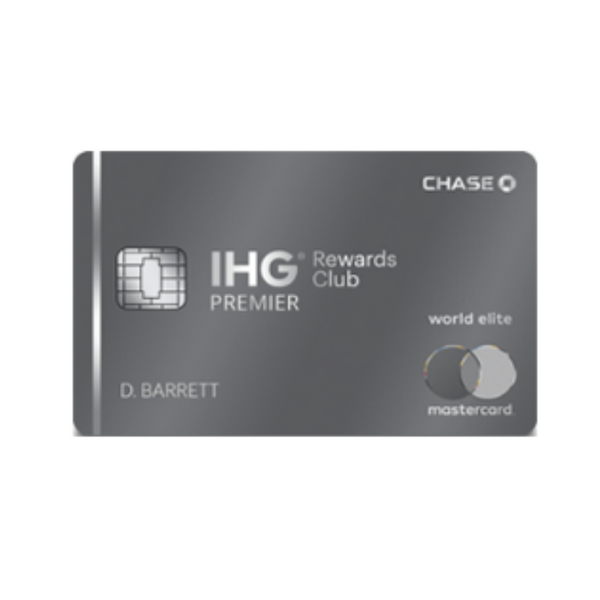 Earn An Enormous 120,000 Points After Signing Up For The Chase IHG Premier Card