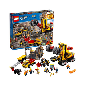 LEGO City Mining Experts Site Building Kit (60188)