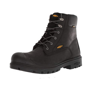 KEEN Utility Men's Baltimore 6'' Waterproof Industrial Steel Toe Boot (Black)