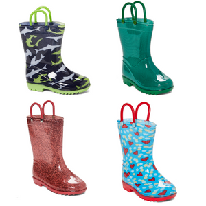 Kids Rain Boots Set Of 2