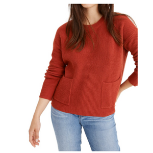 Pocket Pullover Sweater (3 Colors)