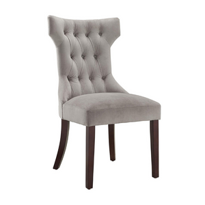 Set Of 2 Dorel Living Clairborne Tufted Dining Chairs