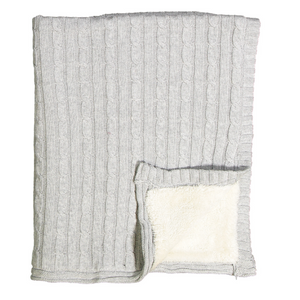 Sherpa Baby Blanket (3 Colors)