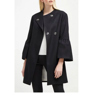 Bell Sleeve Coat (3 Colors)