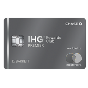 Insane 125,000 Bonus Points for The IHG Rewards Club Premier Credit Card