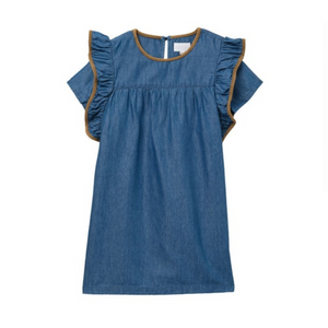 BCBGirls Denim Ruffle Dress