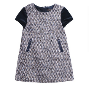 Girls Tweed Dress