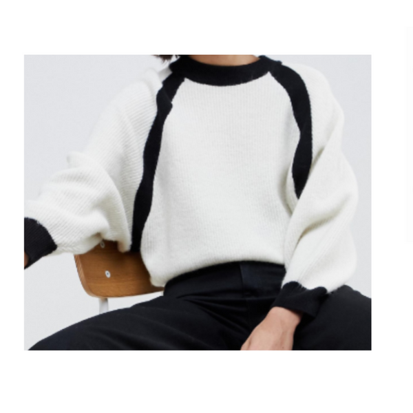 Asos White Sweater