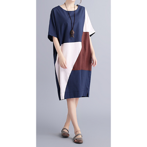 Color Block Shift Dress