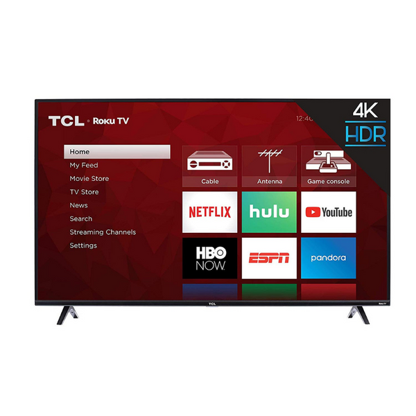 TCL 43 Inch 4K Ultra HD Smart Roku LED TV
