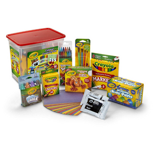 Crayola 90 Piece Art And Craft Creativity Tub Gift Set