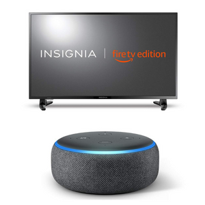Insignia Full HD Smart TV Fire Edition With FREE 3rd Generation Echo Dot