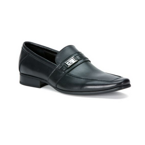Calvin Klein Bartley Signature Leather Loafers
