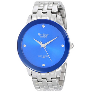 Armitron Men's Diamond Dial Bracelet Watch