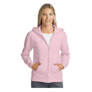 Hanes ComfortSoft Women's Full Zip Hoodies (7 Colors)