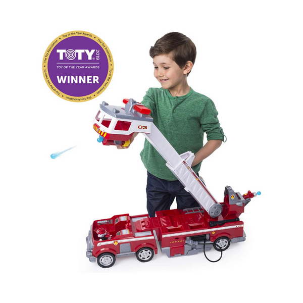 Paw Patrol Ultimate Rescue Fire Truck With Extendable 2′ Ladder