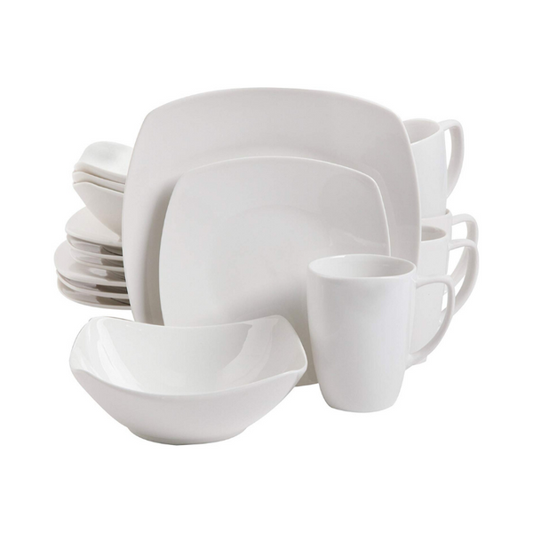 Gibson Home 16 Piece Zen Buffetware Dinnerware Set