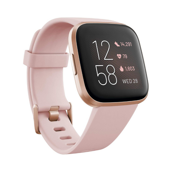 Fitbit Versa 2 Health & Fitness Smartwatch (Petal/Copper Rose)