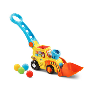 VTech Pop-a-Balls Push & Pop Bulldozer (Yellow)