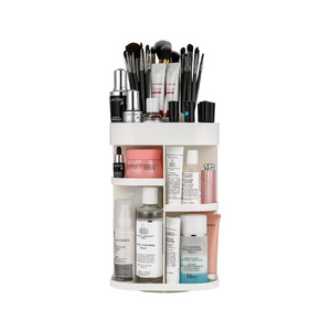 360 Degree Rotation Makeup Organizer