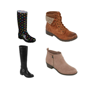 Buy 1 Pair Of Women's Boots Or Shoes And Get 2 FREE!