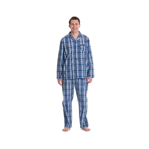 Men's Plaid Pajama Sets (20 Styles)