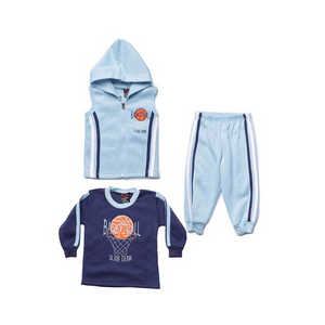 Boys Three Piece Fleece Set (4 Styles)