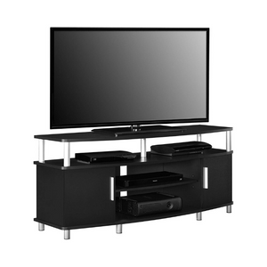 "Ameriwood Home Carson TV Stand for TVs up to 50"" (Black)"