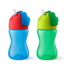 2 Pack Of Philips Avent My Bendy Straw Cup