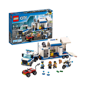 LEGO City Police Mobile Command Center (374 Pieces)