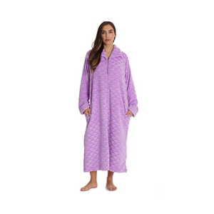 Buy One Get One FREE! Just Love Plush Zipper Lounger Robe for Women (8 Colors)