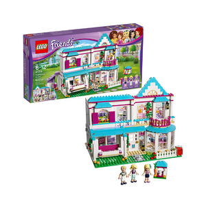 LEGO Friends Stephanie's House Build and Play Toy House with Mini Dolls (622 Pieces)