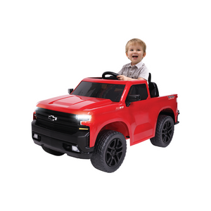 Chevy Silverado Pick-Up Truck Ride On Toy Car