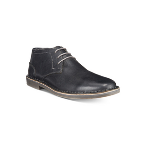 Kenneth Cole Reaction Men's Desert Sun Leather Chukka Boots (Black)