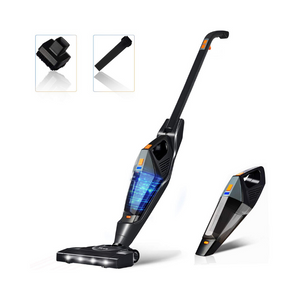 2 in 1 Stick Handheld Vacuum with Rechargeable Lithium Ion Battery