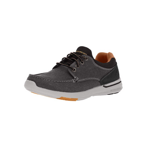 Skechers Men's Relaxed Fit-Elent-Mosen Boat Shoes