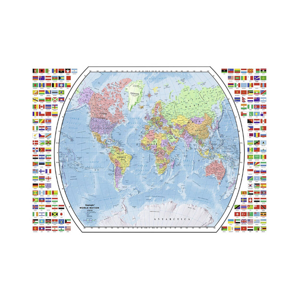 Ravensburger World Map 1000 Piece Jigsaw Puzzle