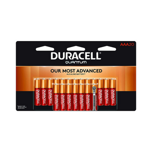 Pack Of 20 AAA Duracell Quantum Alkaline Batteries