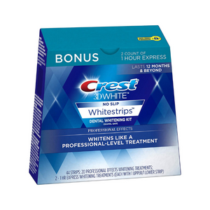 22 Treatments, 20 Professional Effects Crest 3D Whitening Strips Kit