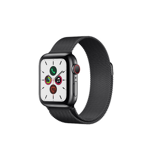 Apple Watch Series 5 40mm Stainless Steel Black + Milanese Loop