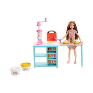 Barbie Sisters Stacie Doll And Breakfast Playset