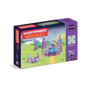 100 Piece Magformers Magnetic Building Blocks