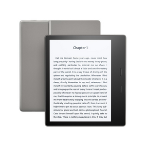 32GB Kindle Oasis 7″ E-reader (9th Gen, Wi-Fi; Waterproof)