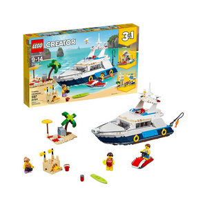 LEGO Creator 3in1 Cruising Adventures Building Kit (597 Pieces)